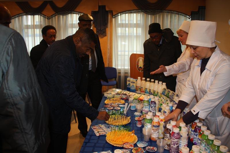 Визит в Беларусь делегации Судана во главе с губернатором штата Хартум Абдельрахимом Мохаммедом Хуссейном